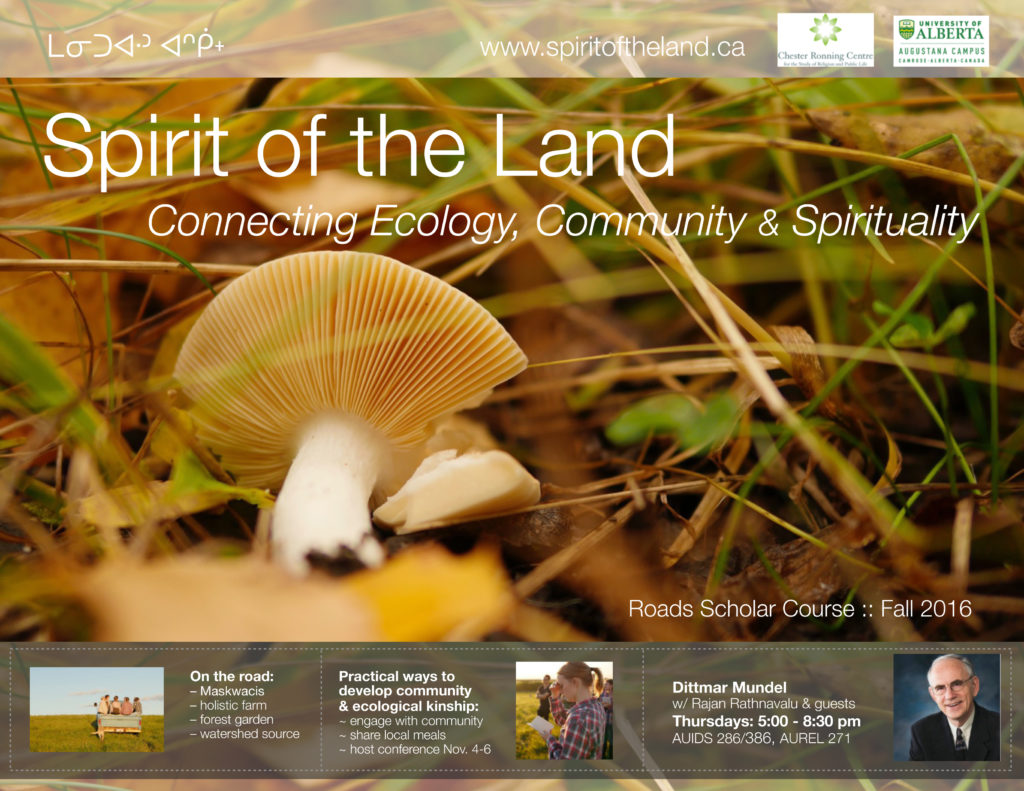 Spirit of the Land - Course Poster